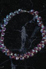 seazido - wevyra swarovski purple shade with white