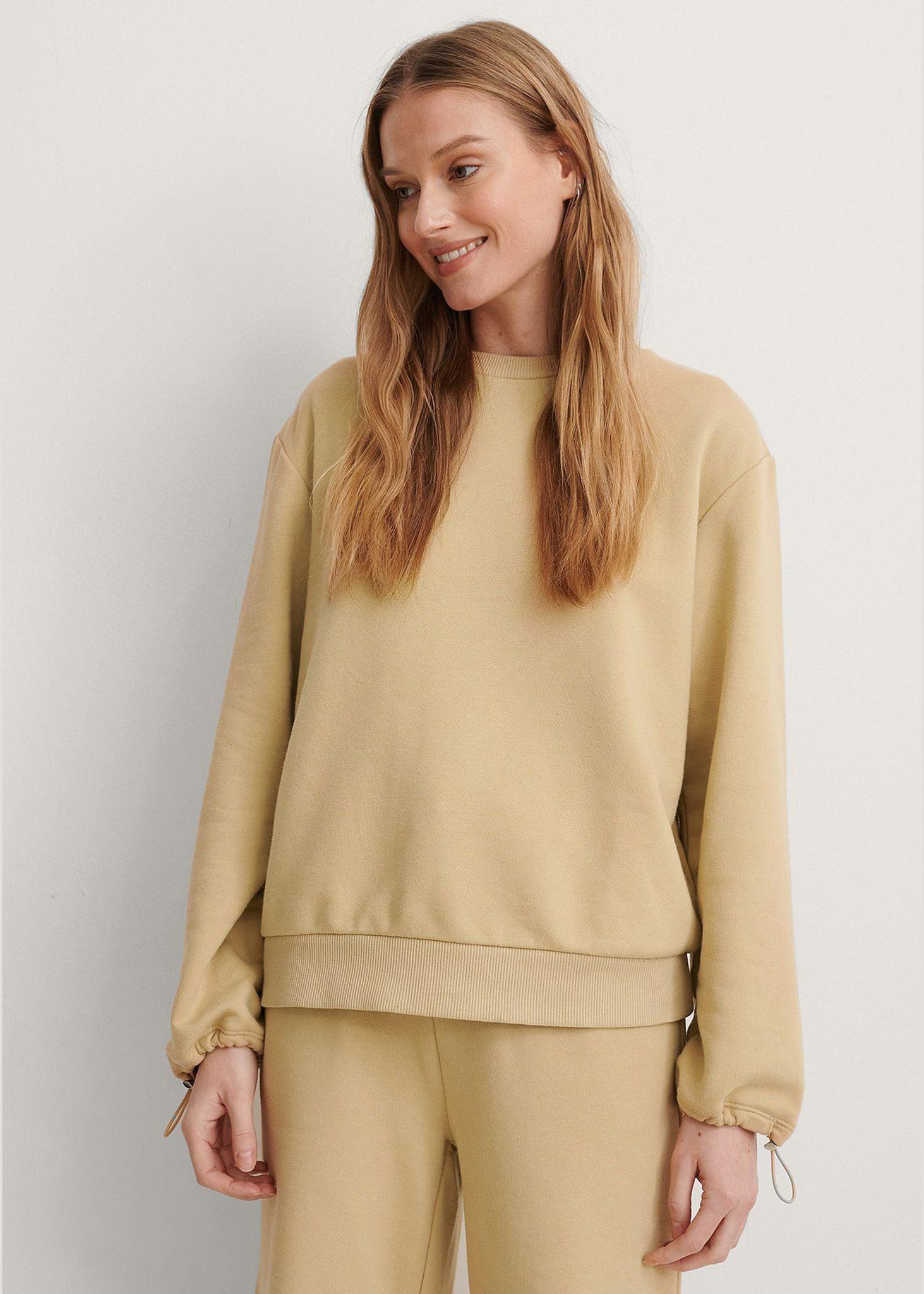 Drawstring Sweatshirt-1