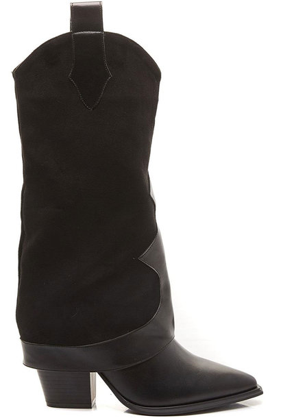 Western Boots Zwart