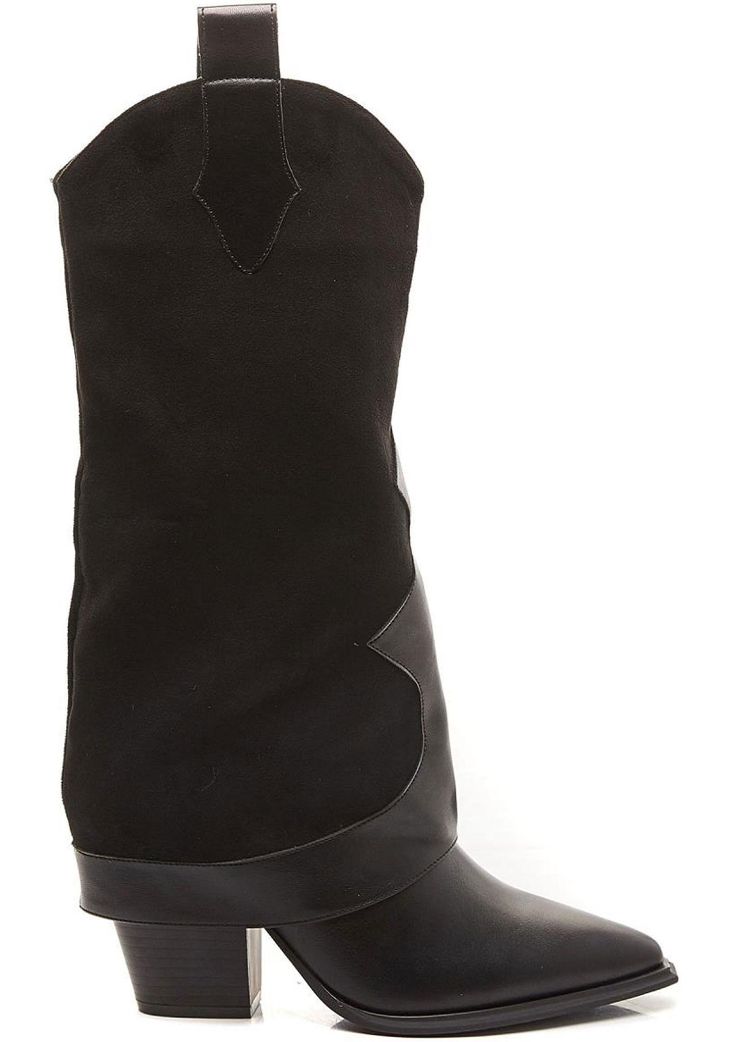 Western Boots Zwart-1