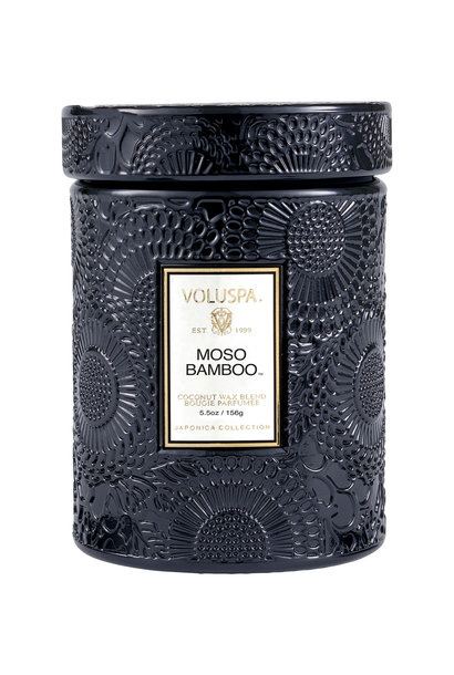 Moso Bamboo Small Jar Candle
