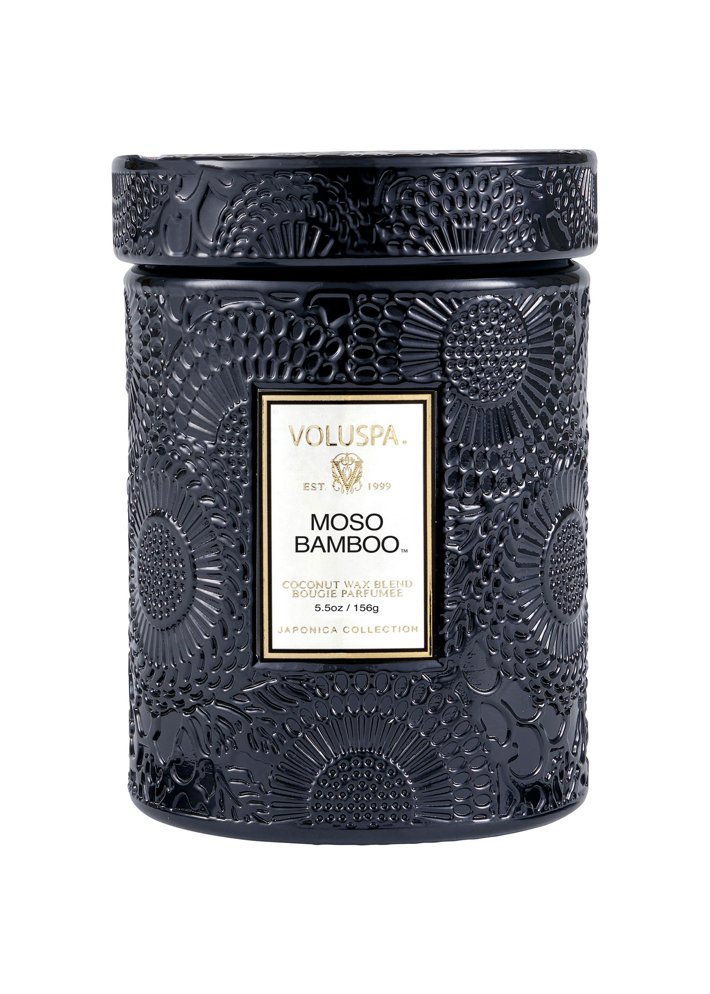 Moso Bamboo Small Jar Candle-1