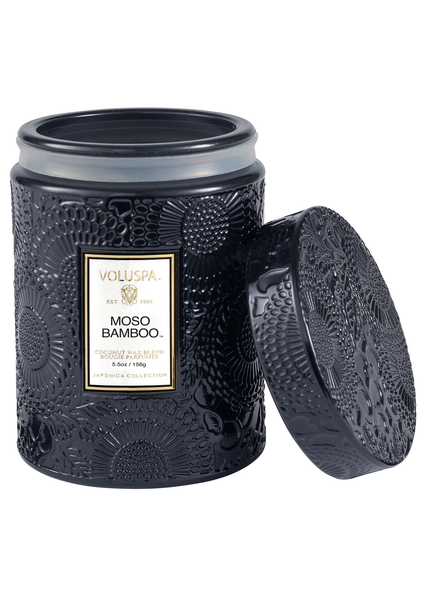 Moso Bamboo Small Jar Candle-2