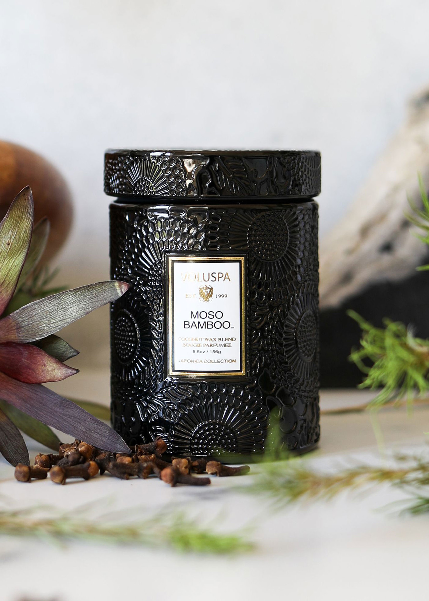 Moso Bamboo Small Jar Candle-3