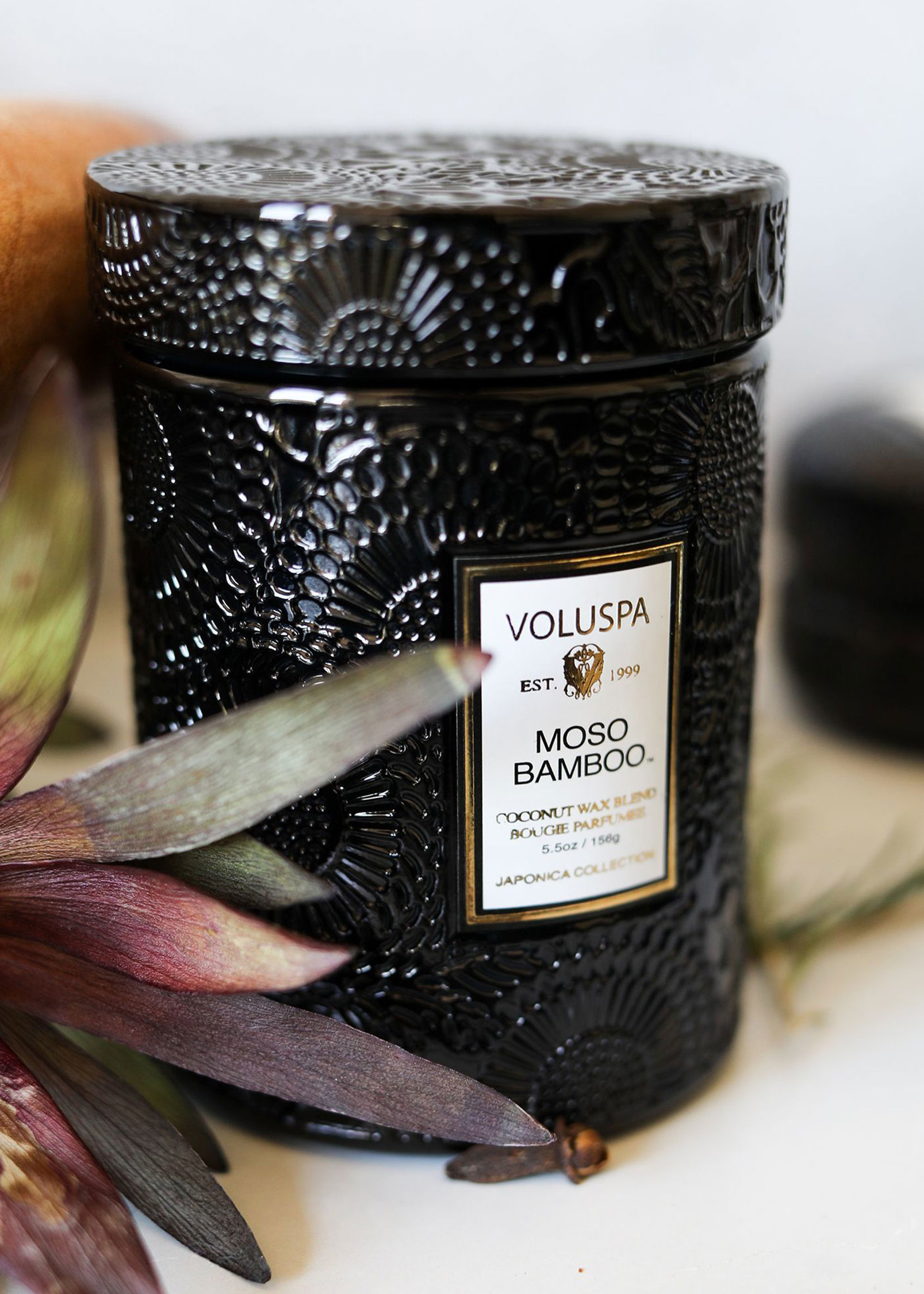 Moso Bamboo Small Jar Candle-5
