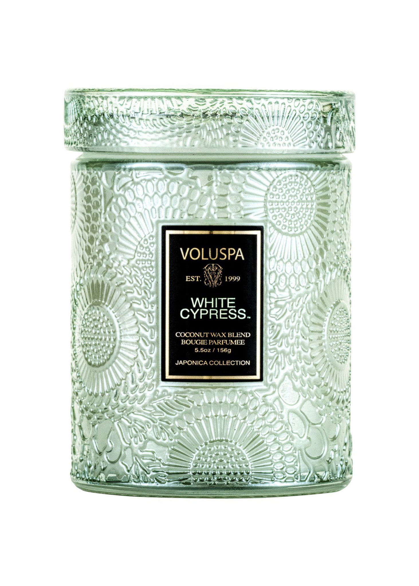 White Cypress Small Jar Candle-1
