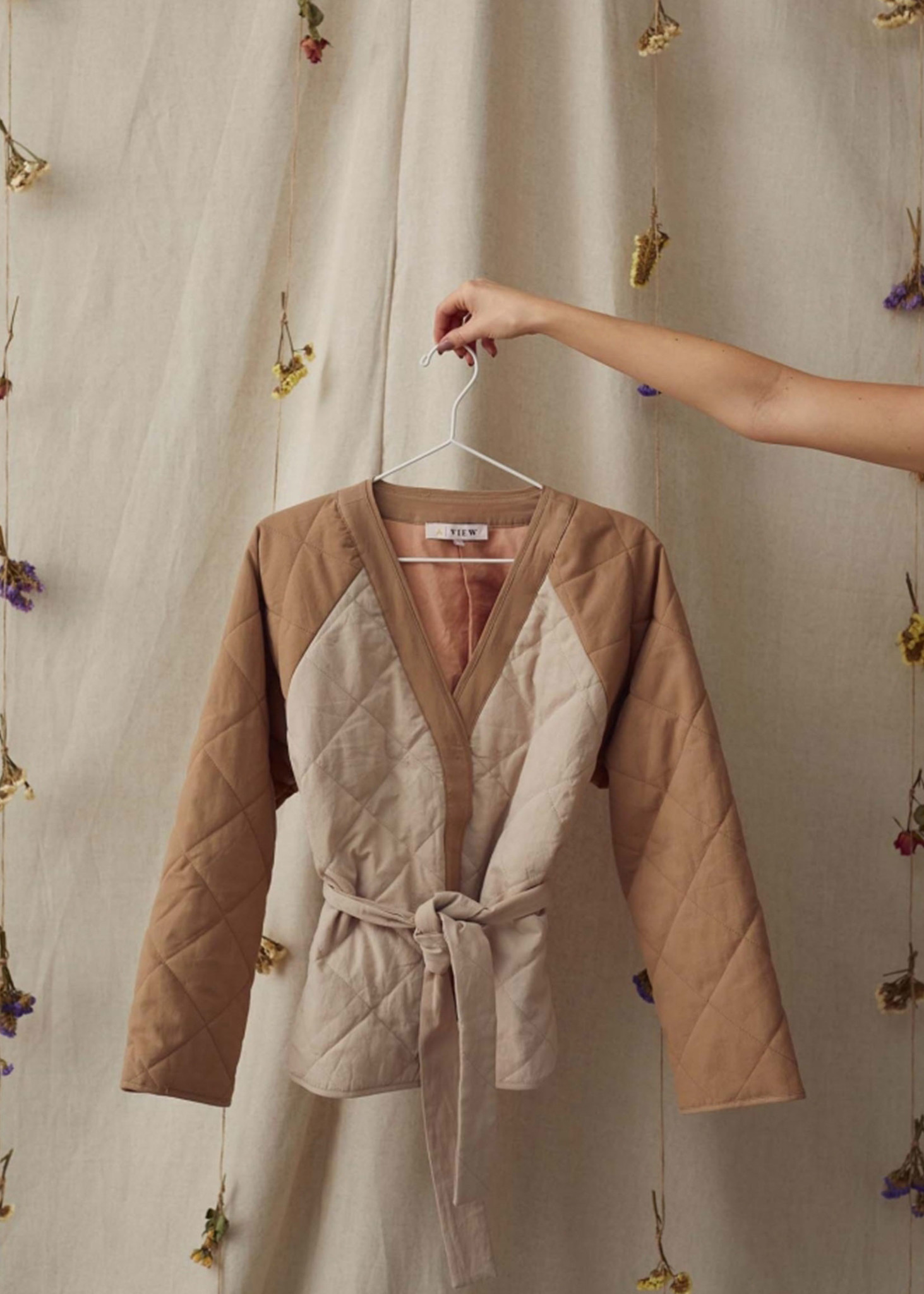 Orata Quilted Jacket-3