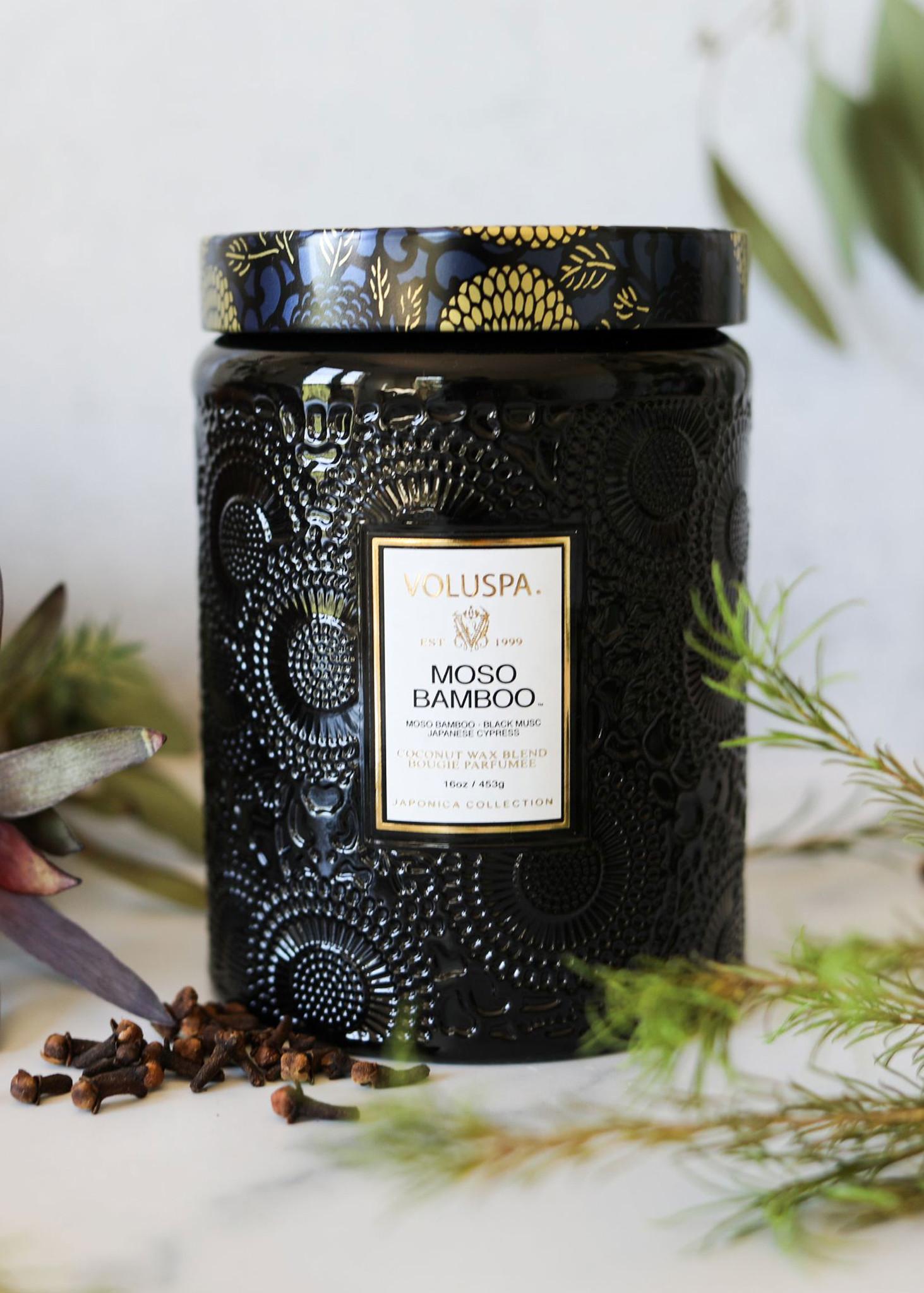 Moso Bamboo Large Jar Candle-2