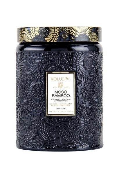 Moso Bamboo Large Jar Candle