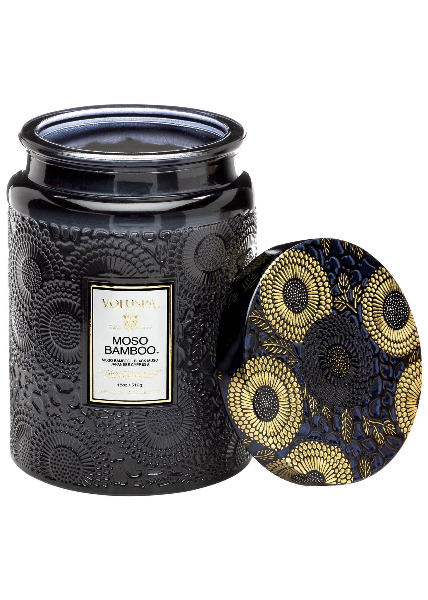 Moso Bamboo Large Jar Candle-3
