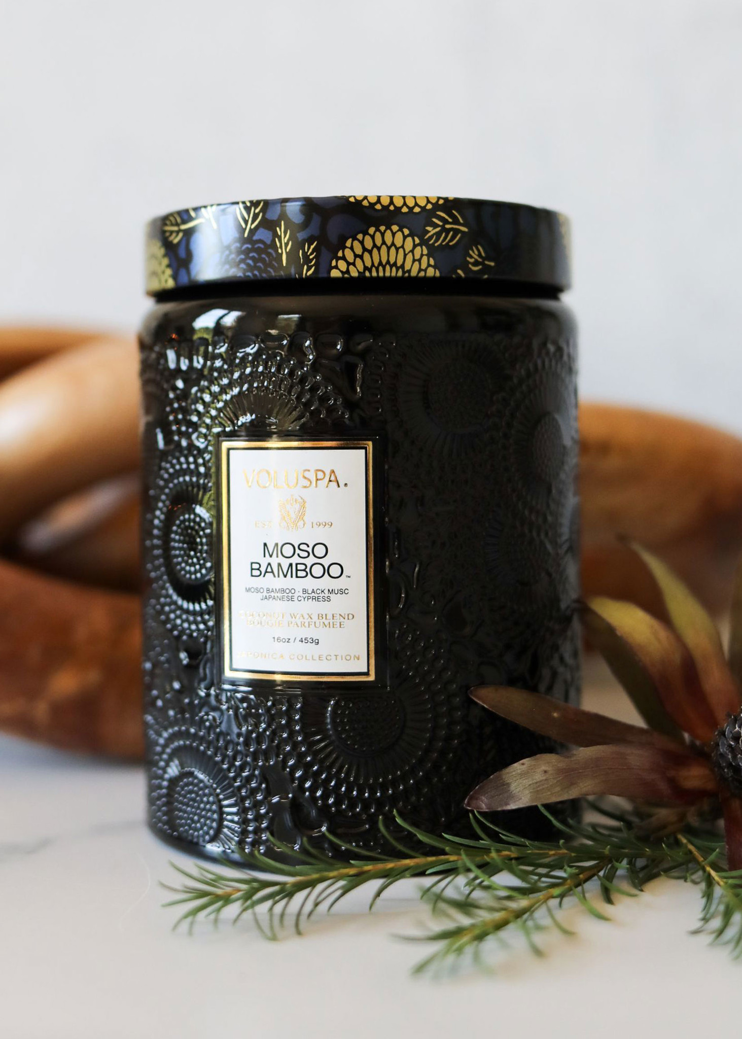 Moso Bamboo Large Jar Candle-4