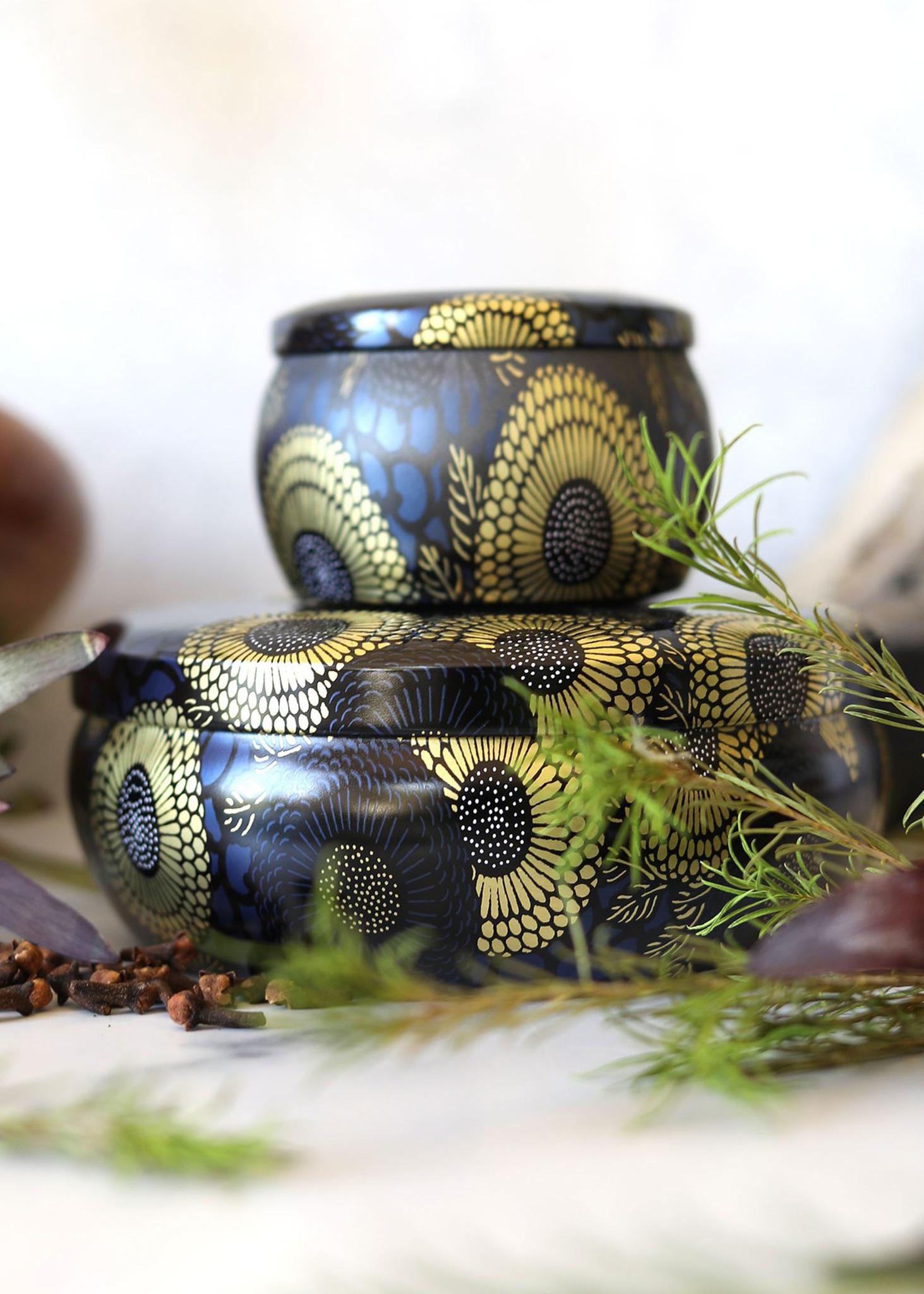 Moso Bamboo 3 Wick Tin Candle-3