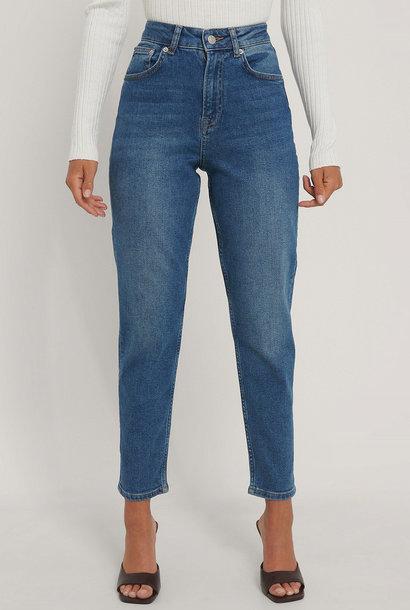 Comfort Mom Jeans Mid Blue