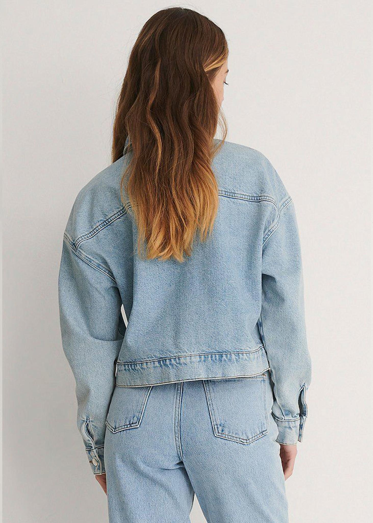 Cropped Denim Jacket-3