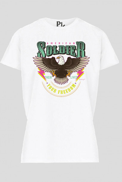 American T-Shirt Colorful