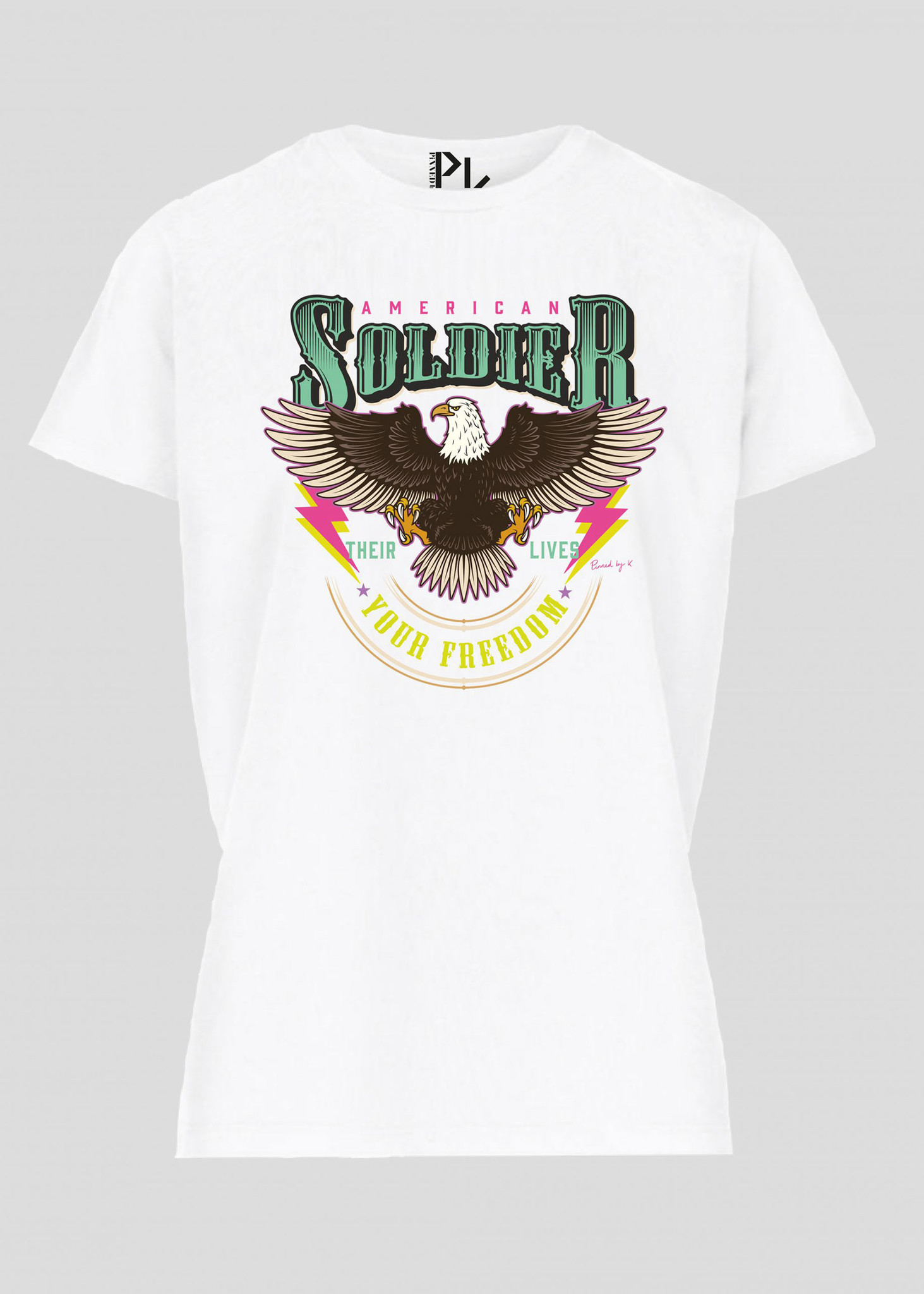 American T-Shirt Colorful-1