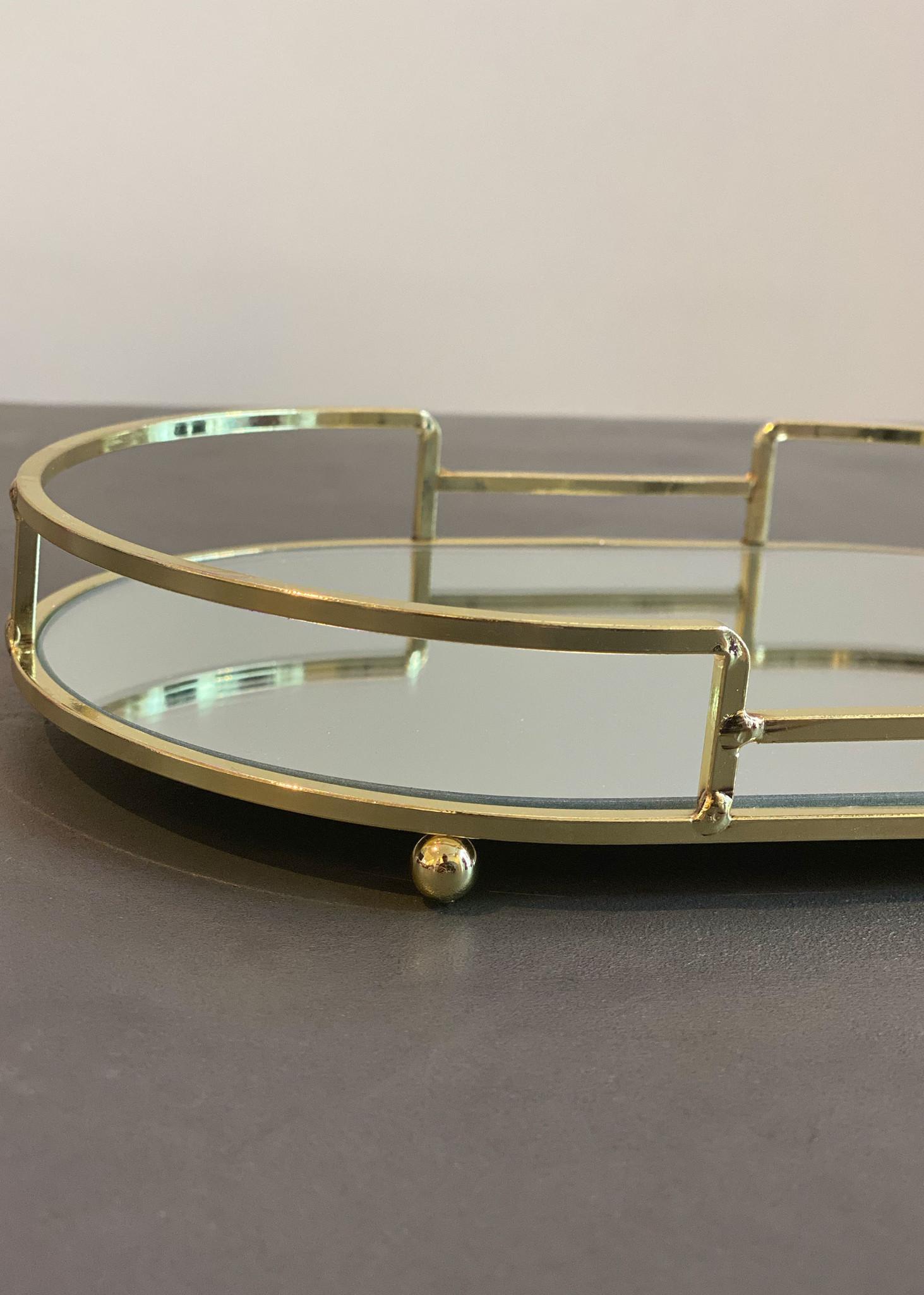 Golden Mirror Tray-2