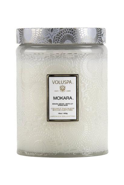 Mokara Large Jar Candle