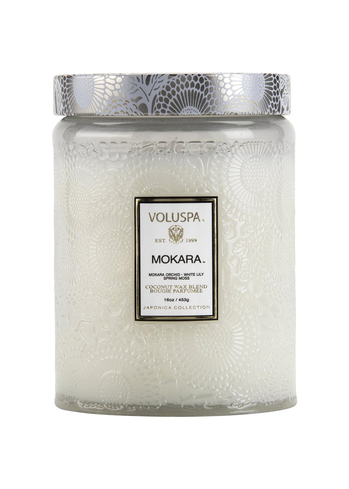 Mokara Large Jar Candle-1