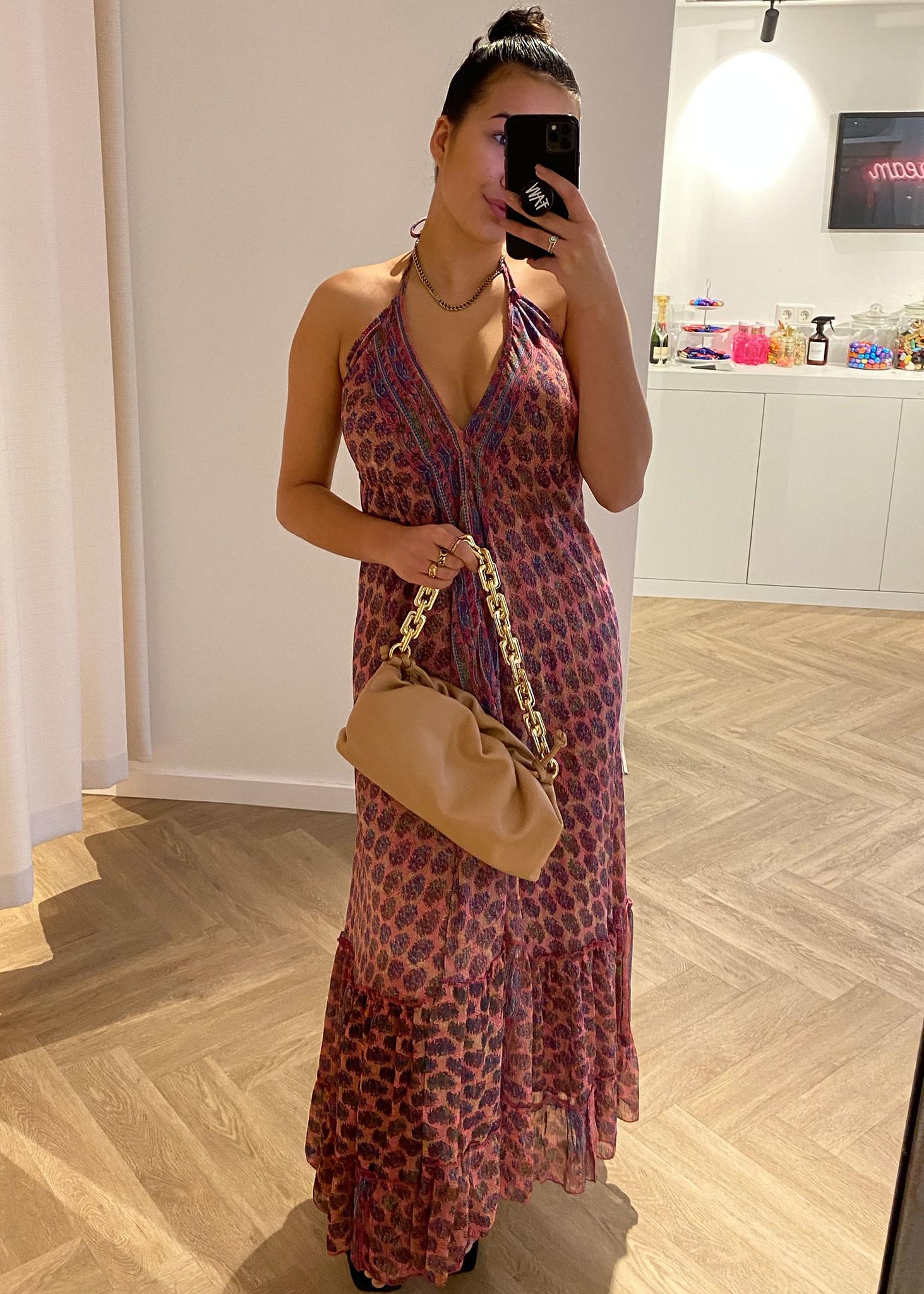 Long Dress Pink-1