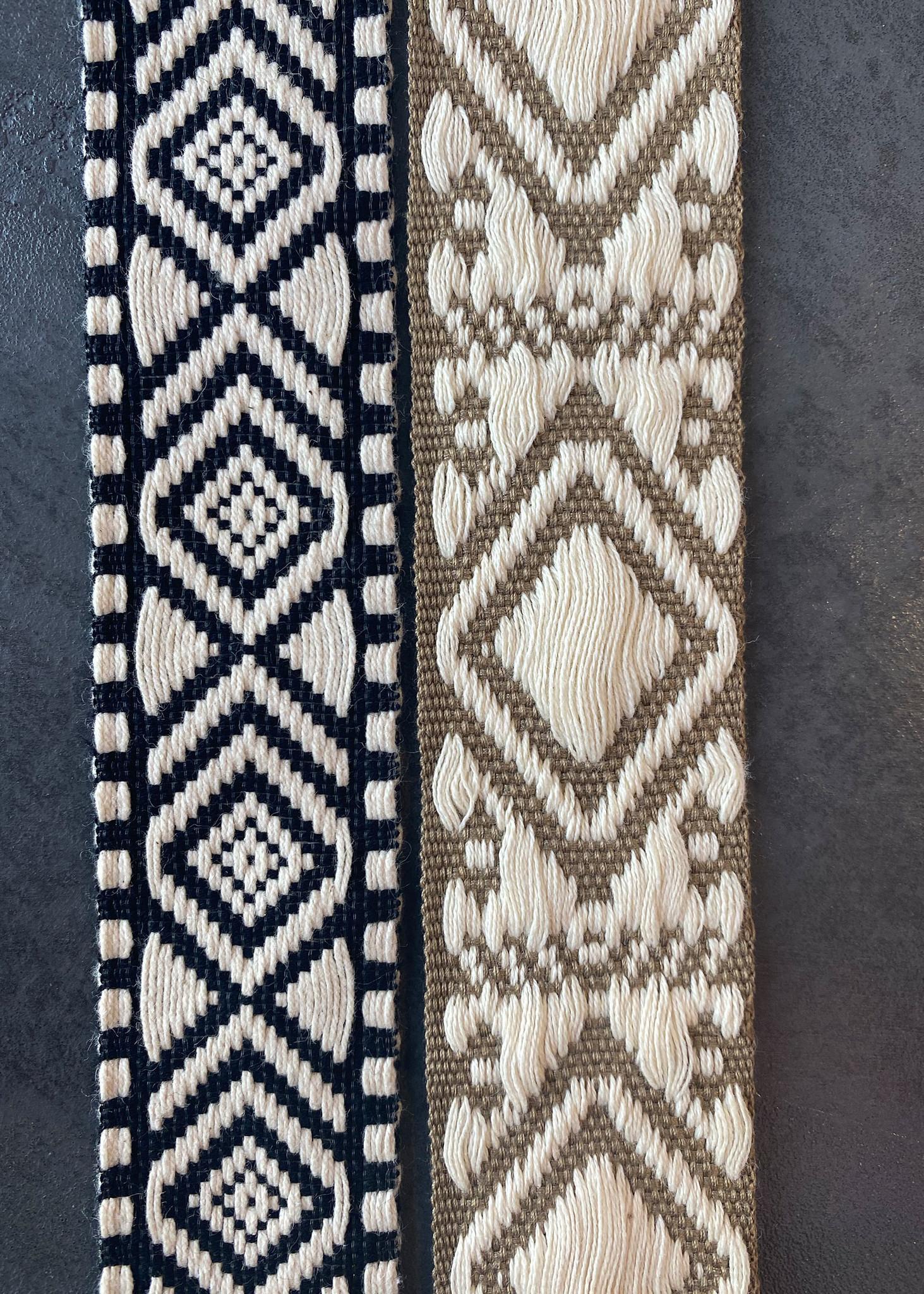 Canvas Belt Black/Ecru-2