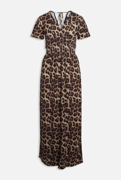 Long Leopard Dress