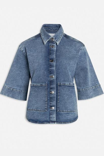 Olea Jacket Medium Blue