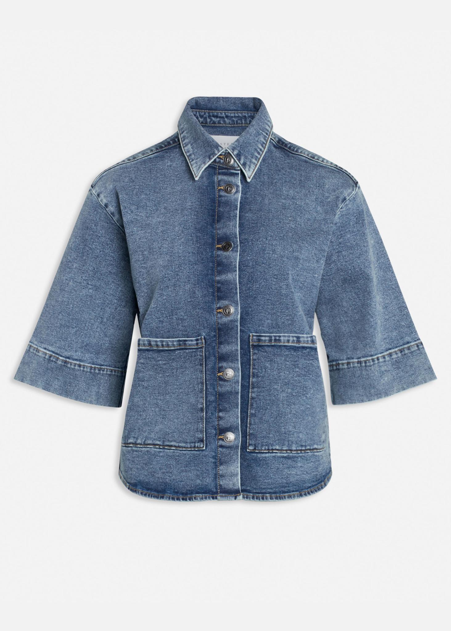 Olea Jacket Medium Blue-1