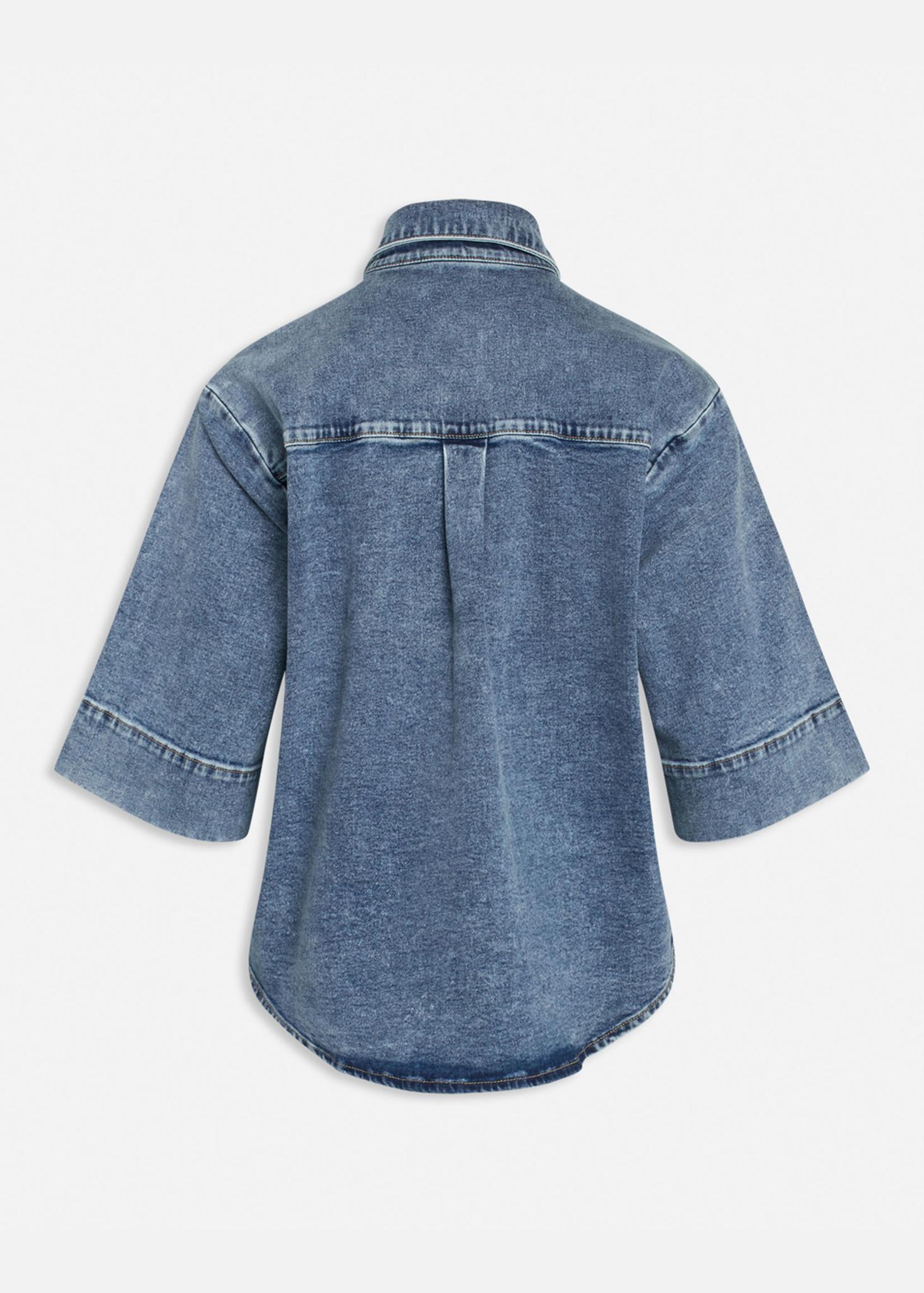 Olea Jacket Medium Blue-2