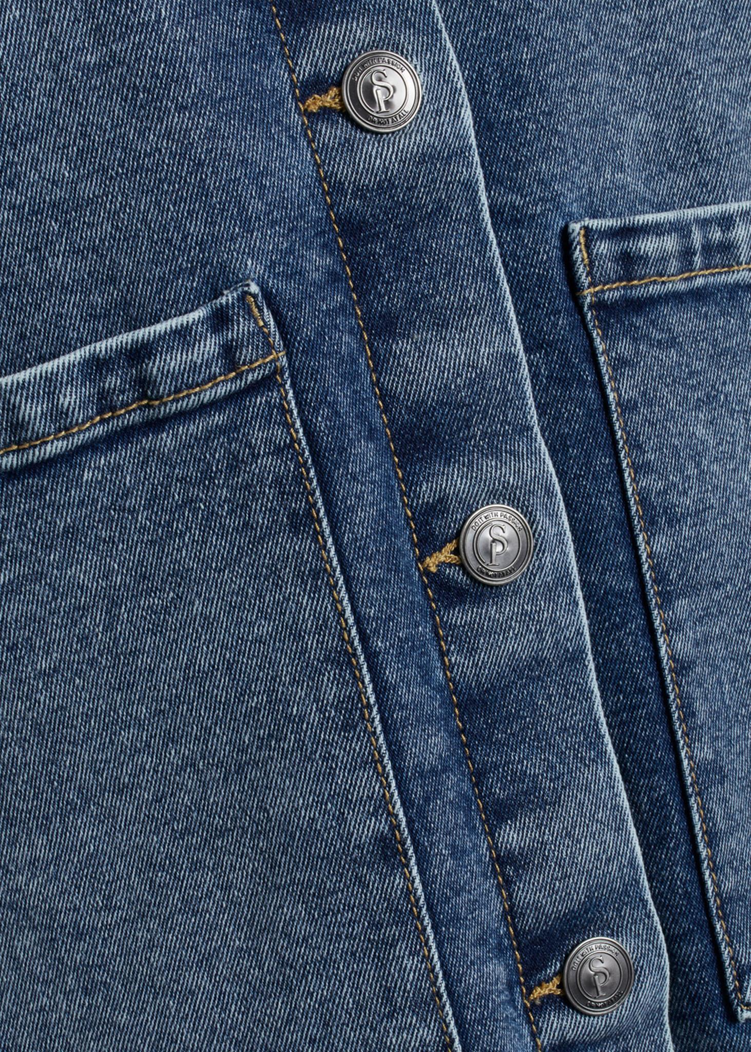 Olea Jacket Medium Blue-3