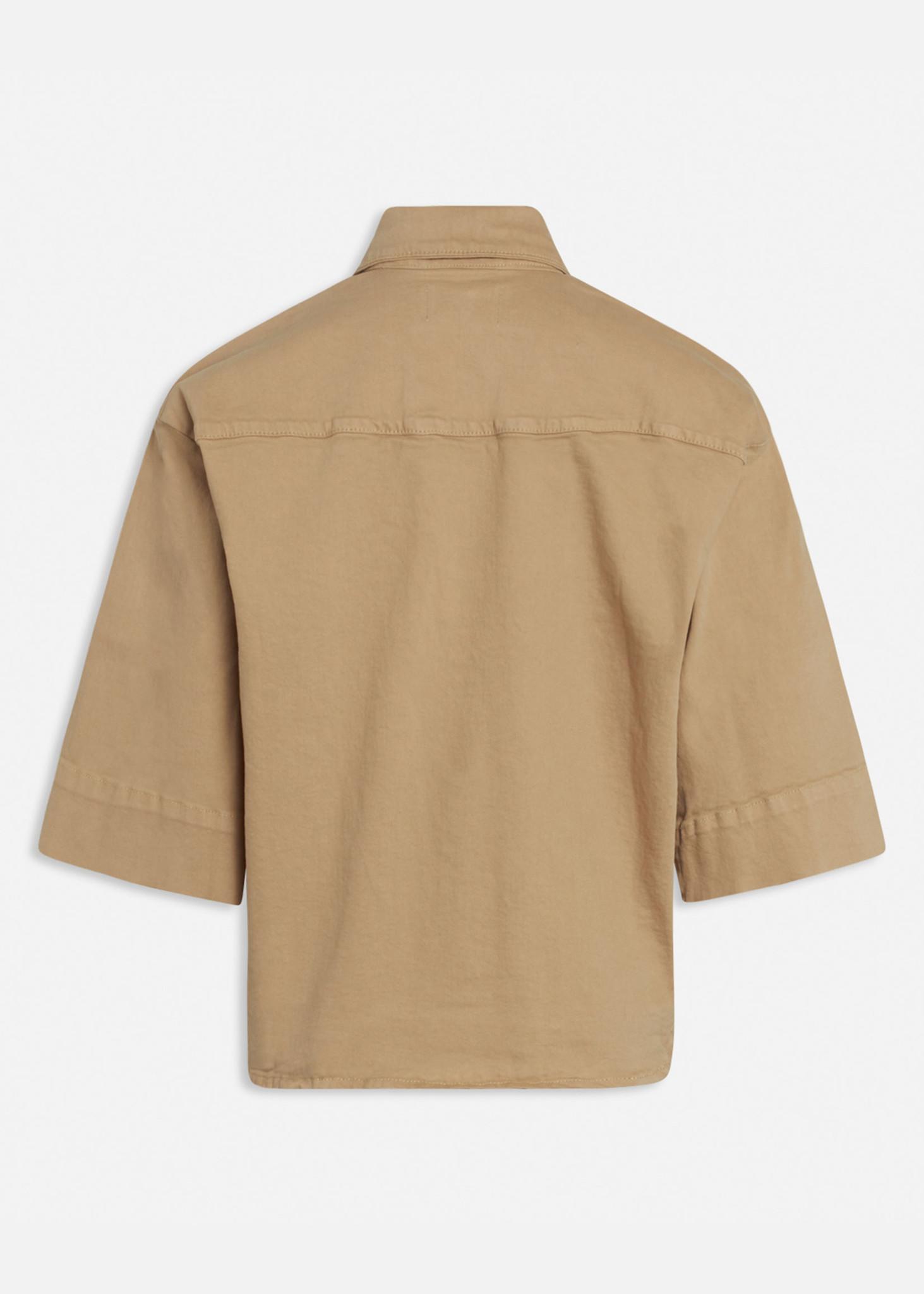 Olea Jacket Camel-3