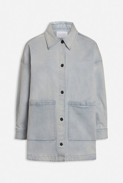 Otina Denim Jacket Light Blue