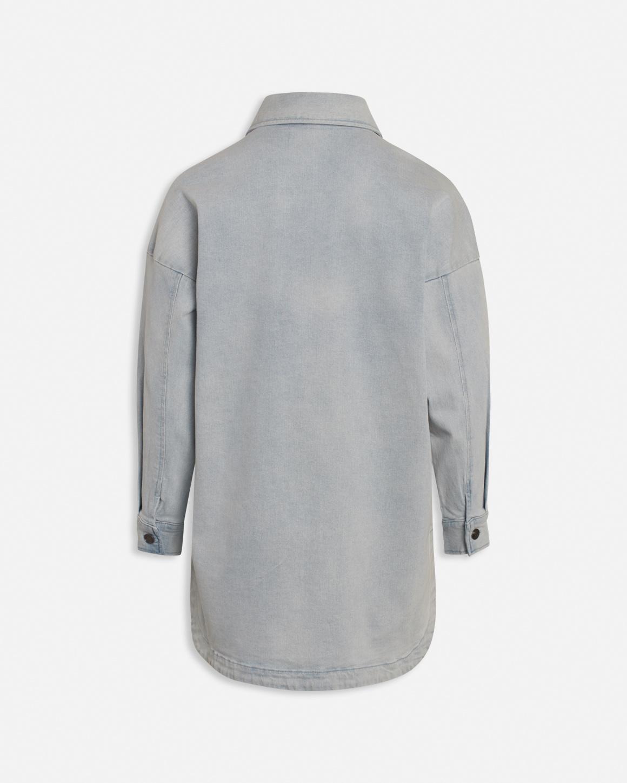 Otina Denim Jacket Light Blue-2