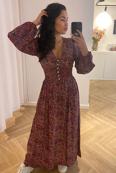 Colored Long Dress