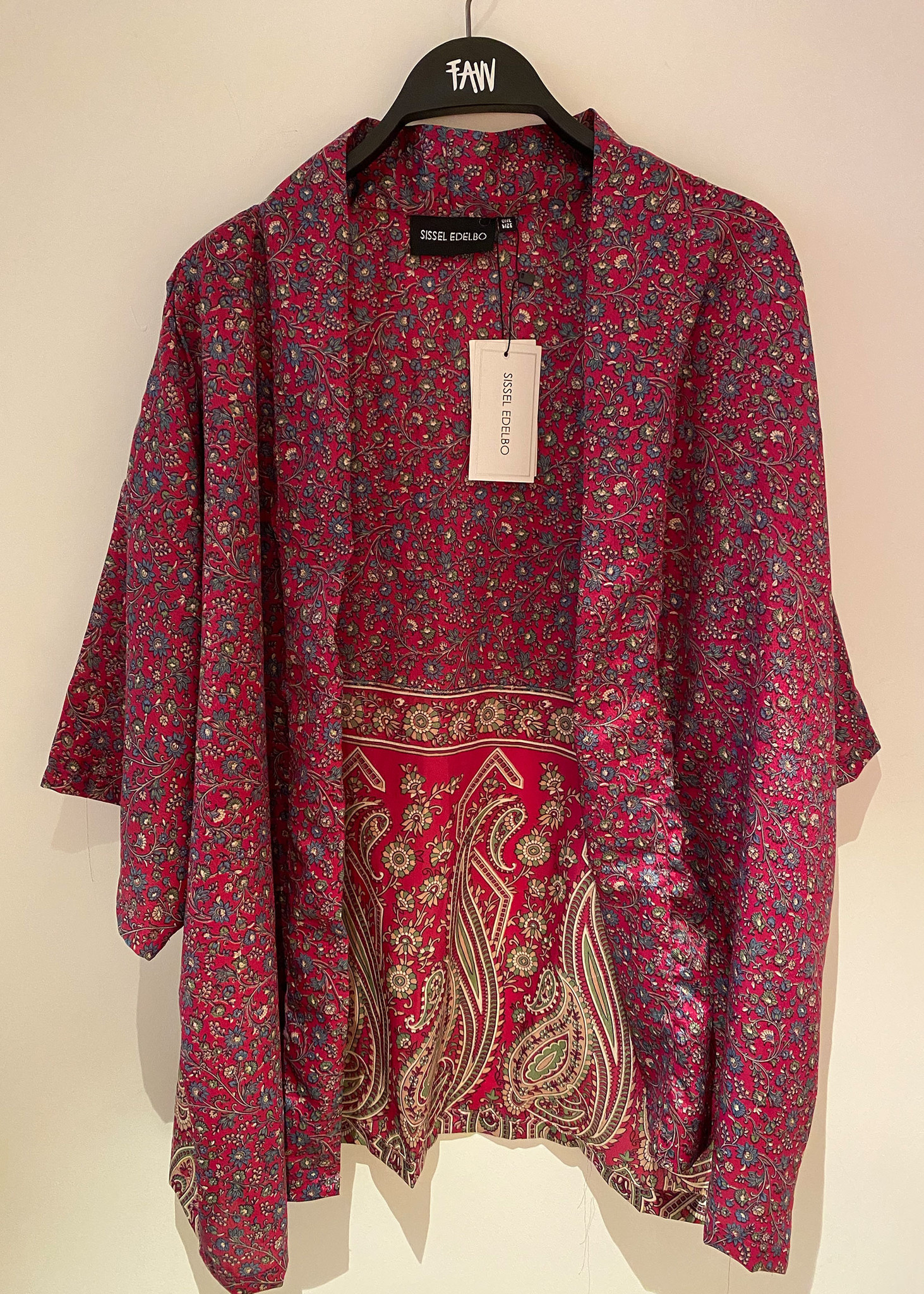 Lotus Short Kimono-1