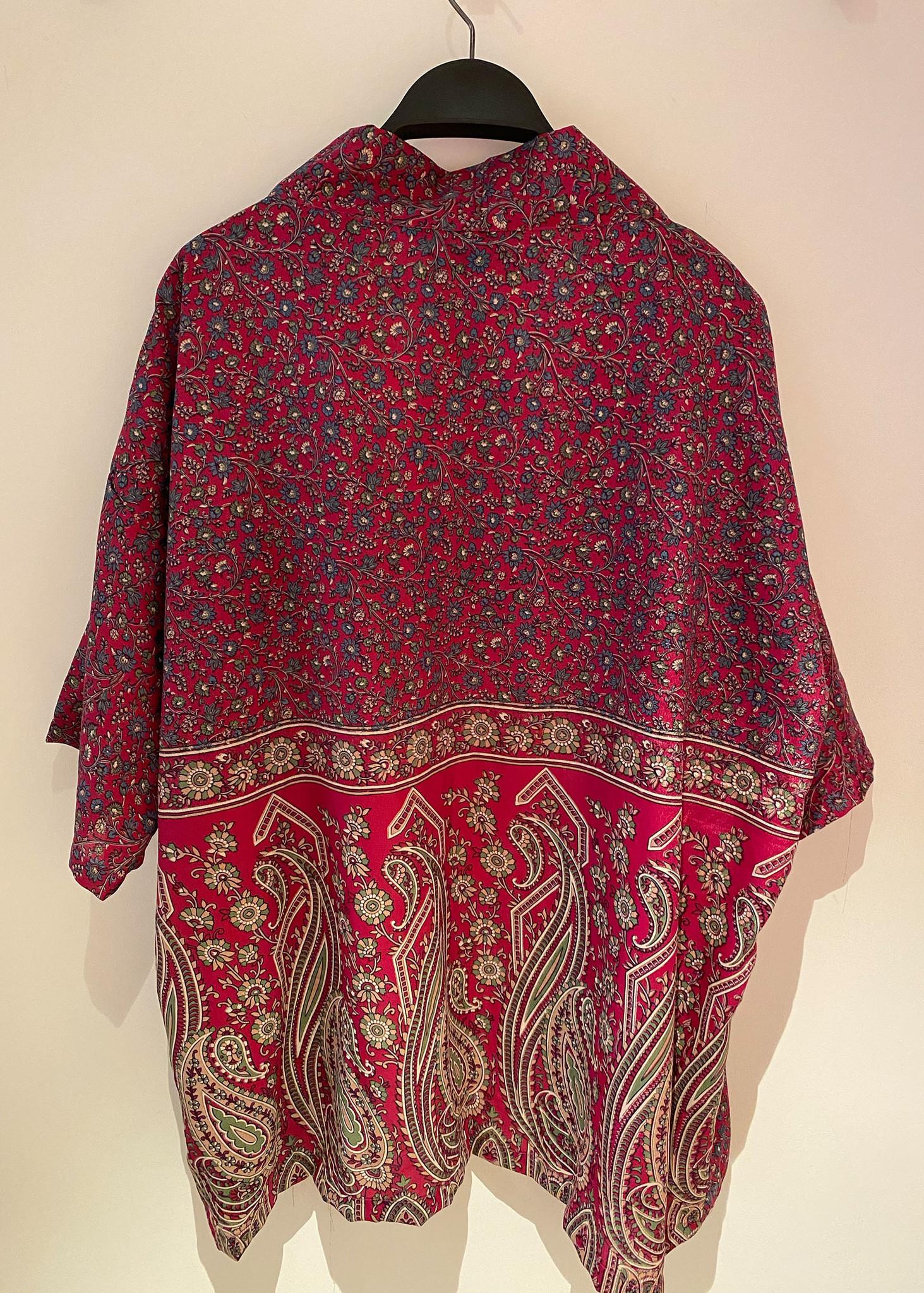Lotus Short Kimono-2