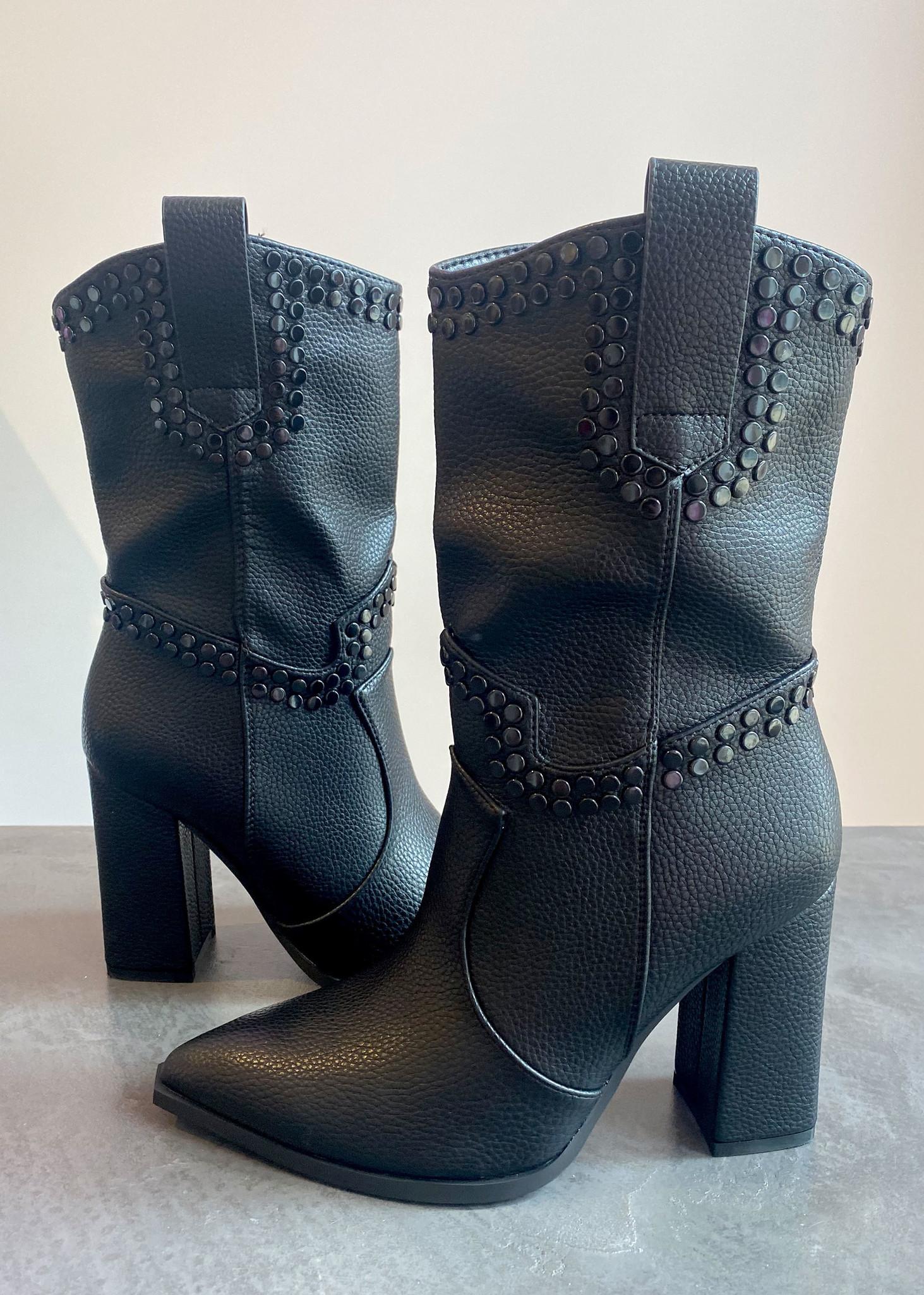 Xess Boots Black-1