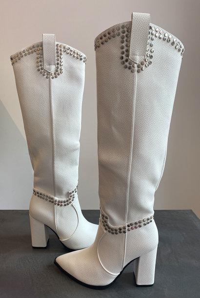 Xess Boots White