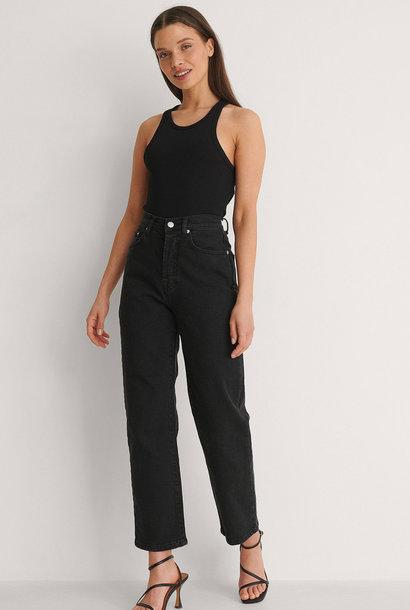 Straight High Waist Jeans Petite