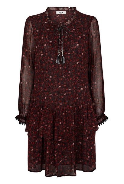 Gabrielle Dress Ketchup