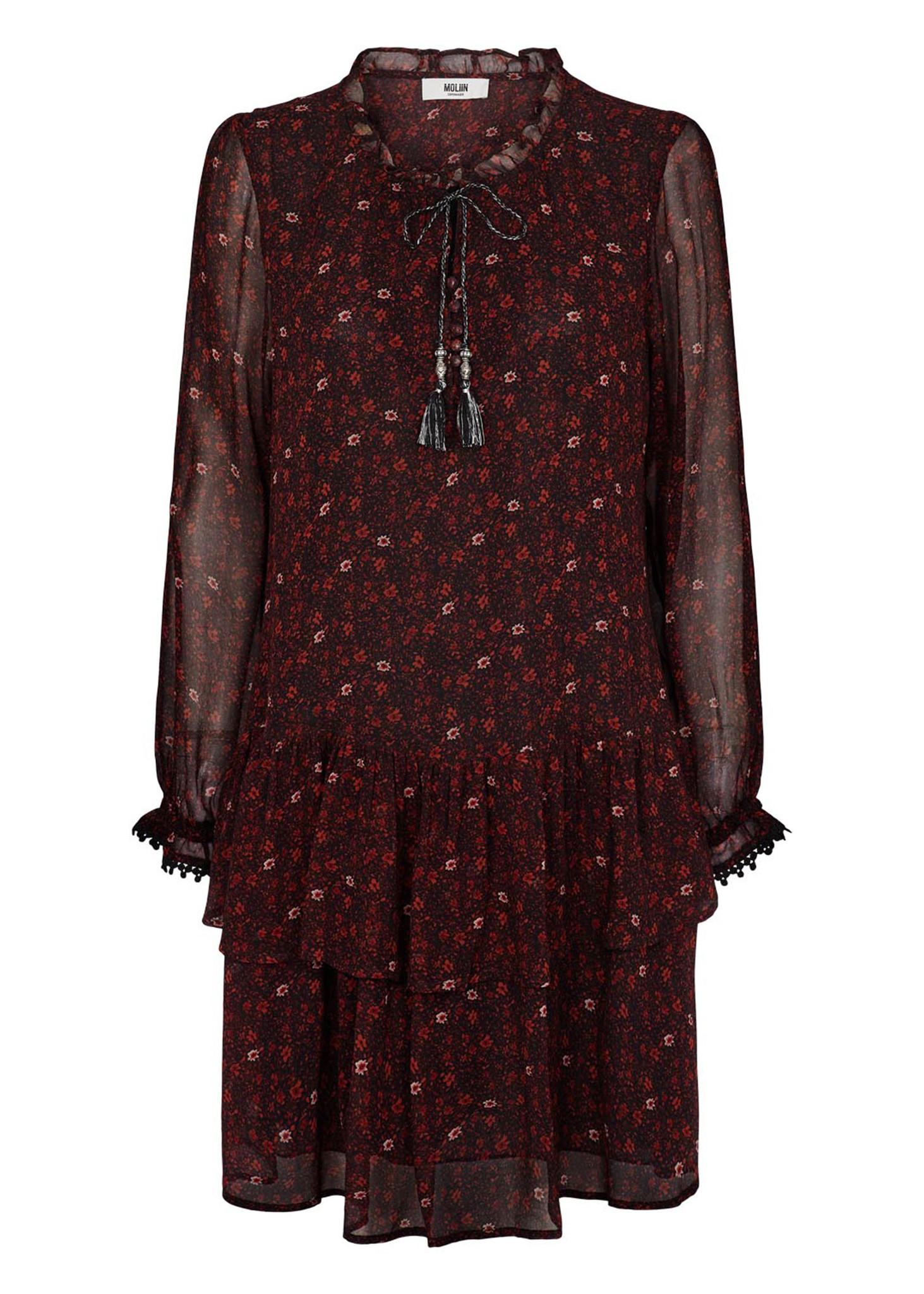 Gabrielle Dress Ketchup-1