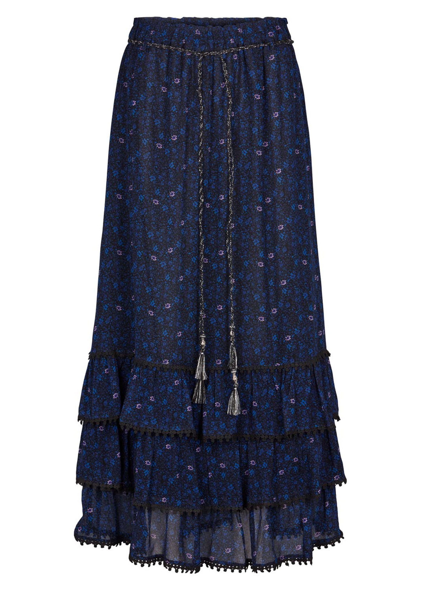 Amara Skirt Mazarine Blue-1