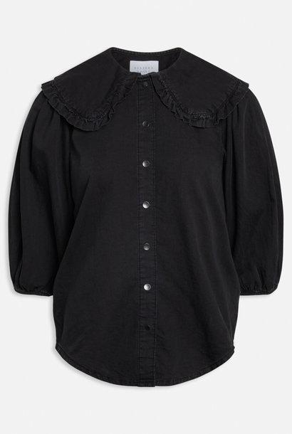 Black Wash Ovia Blouse