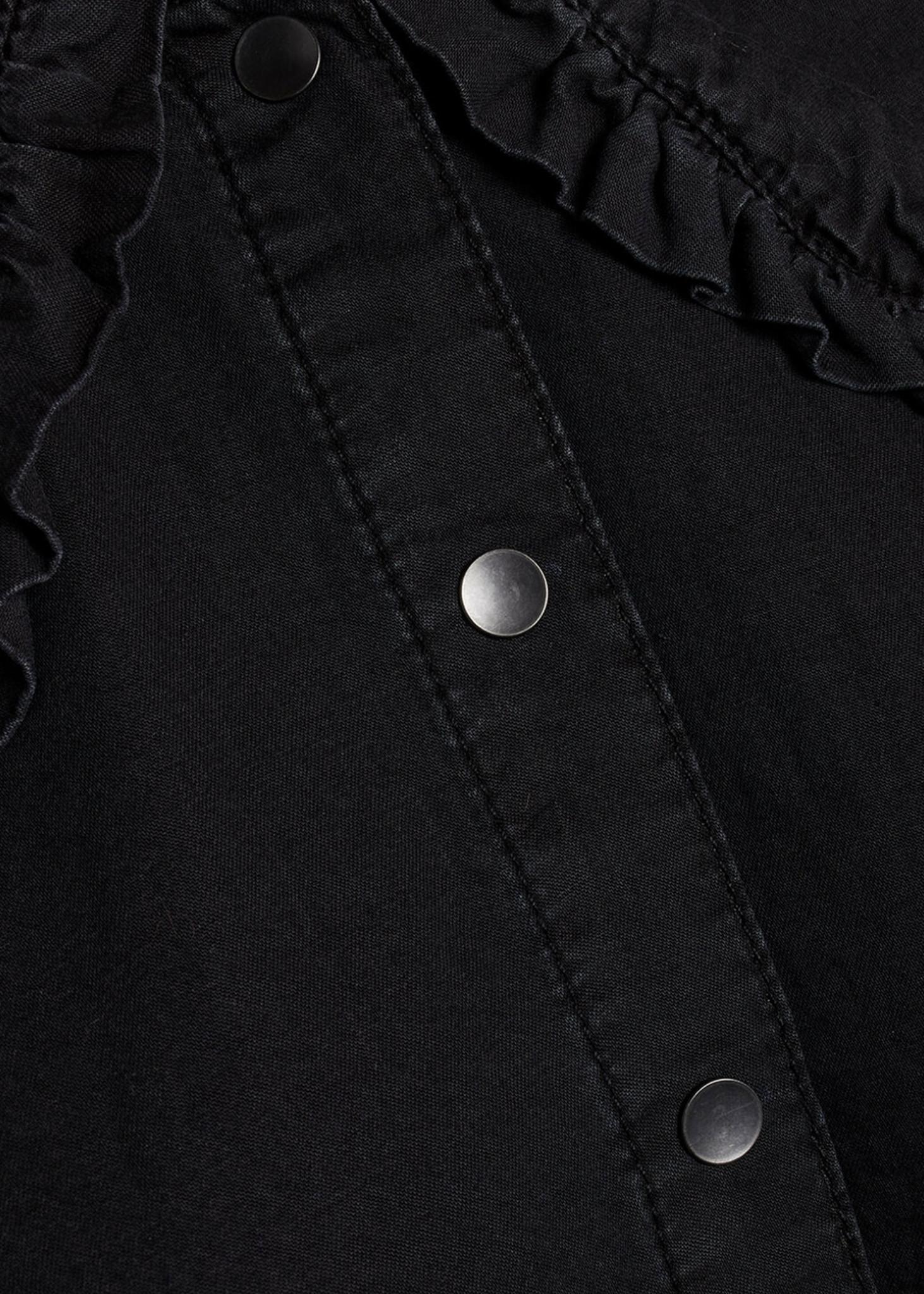 Black Wash Ovia Blouse-3