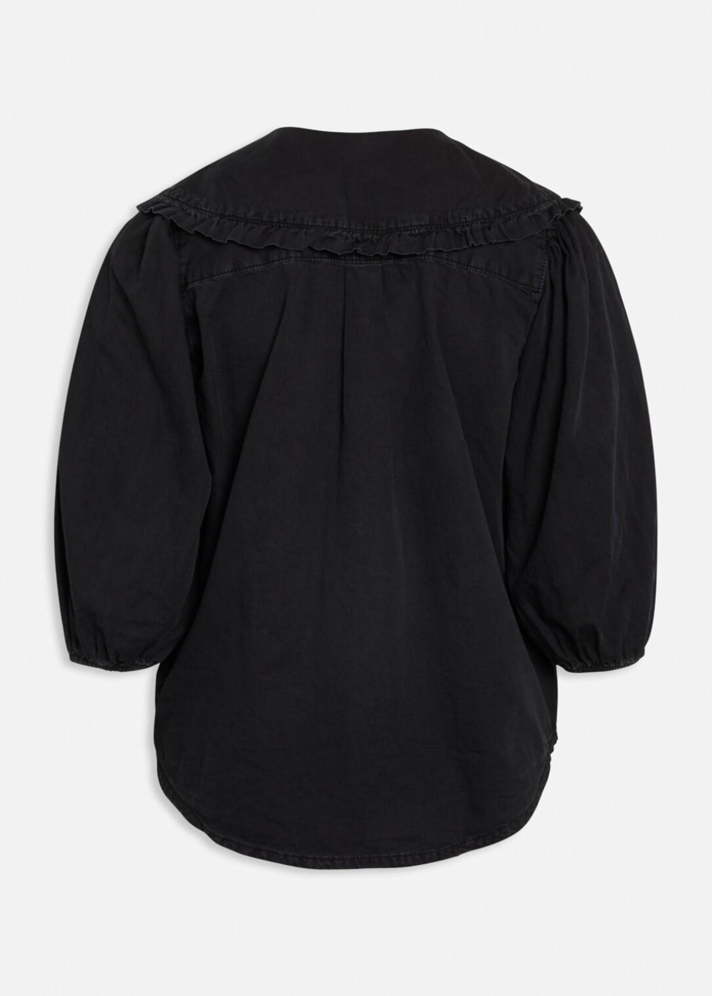 Black Wash Ovia Blouse-2
