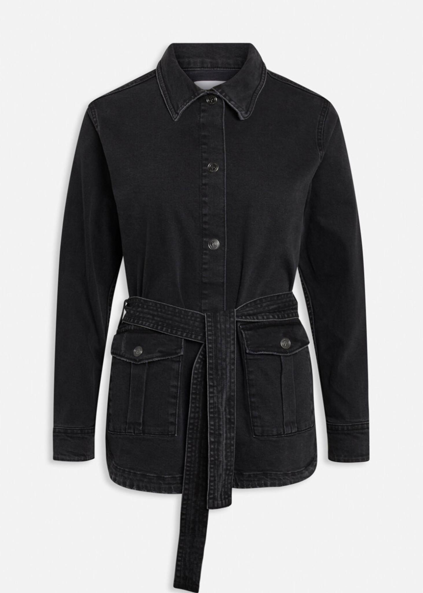 Black Wash Olli Jacket-1