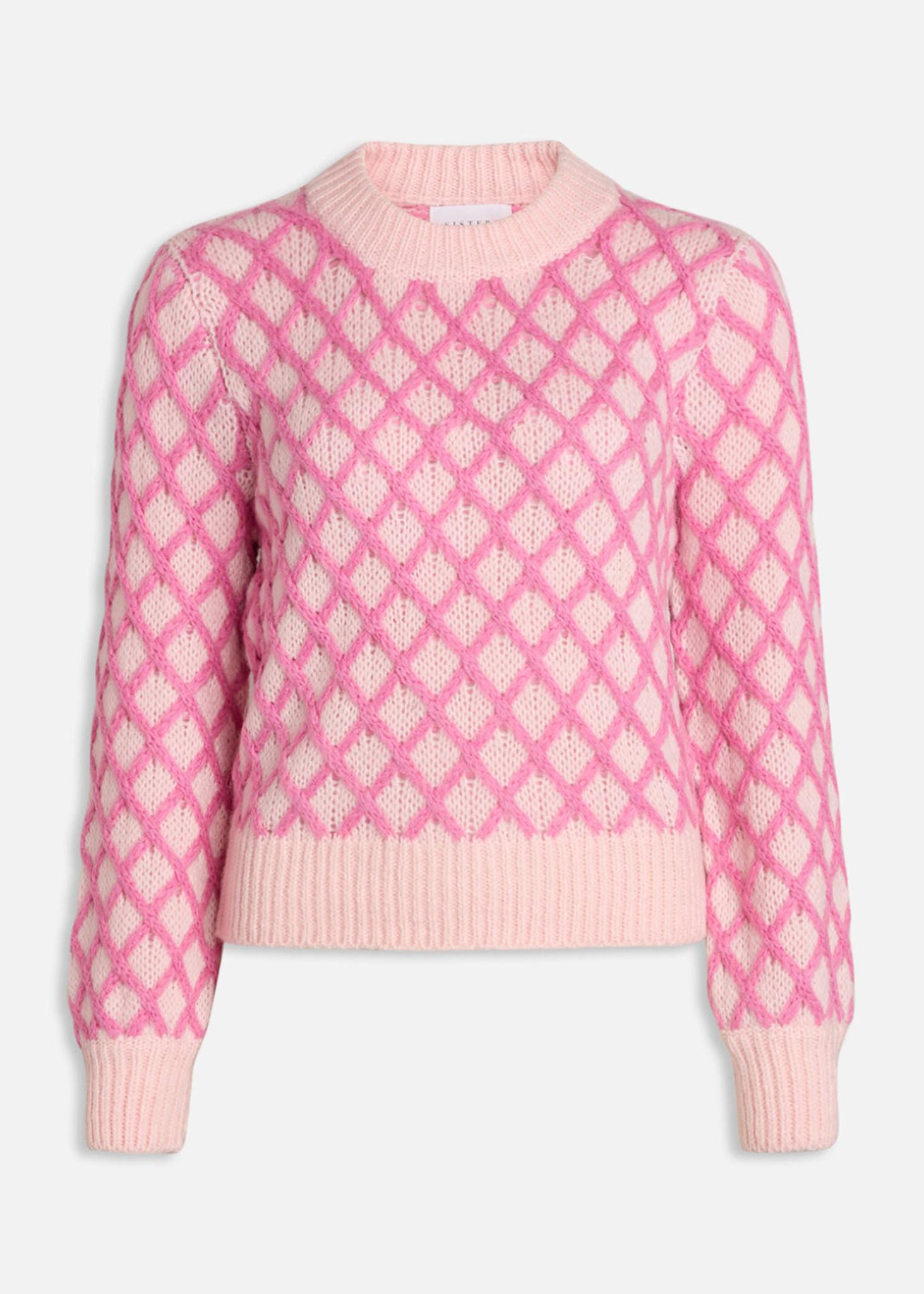 Laya Pink Sweater-1