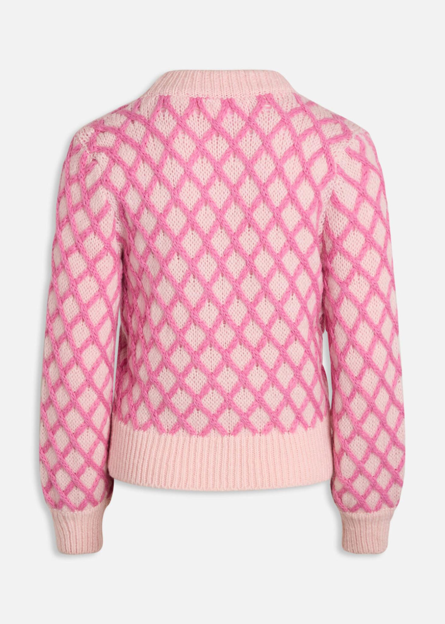 Laya Pink Sweater-2