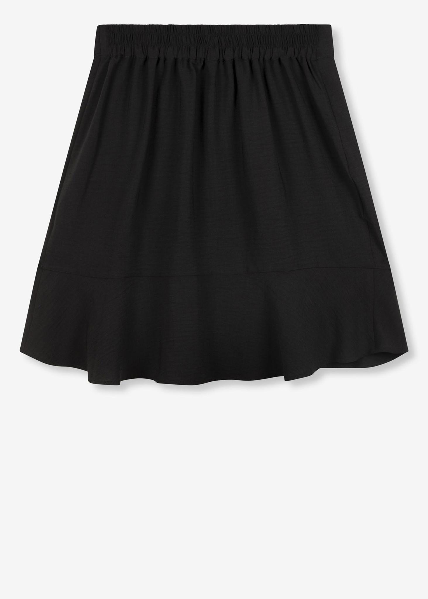 Flowy Skirt Black-2
