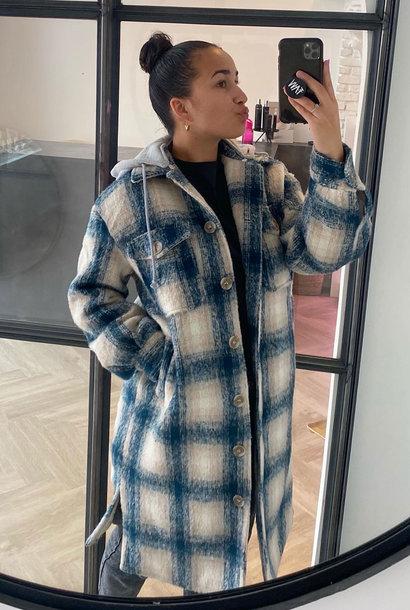 Cherri Jacket Blue/Cream